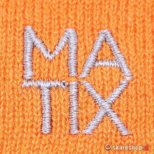 Sweter MATIX Big Block (heather oatmeal) multikolor