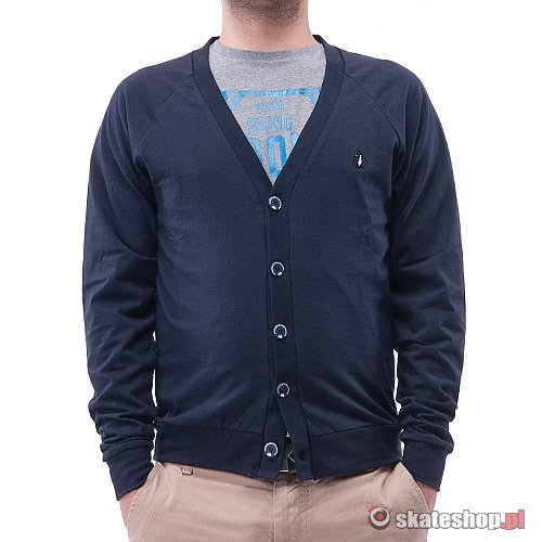 Sweter TURBOKOLOR Pocket-less (dark navy) granatowy