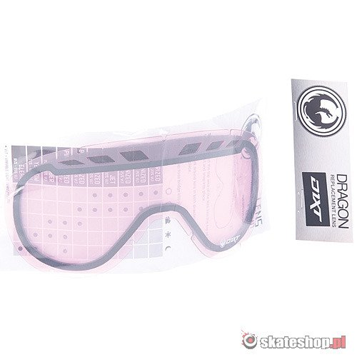 Szybka do gogli DRAGON D1XT pink