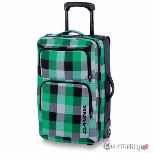 Torba DAKINE Carry On Roller (fairway) zielona w kratę