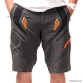 Szorty rowerowe FOX Ultimatum (grey/orange)