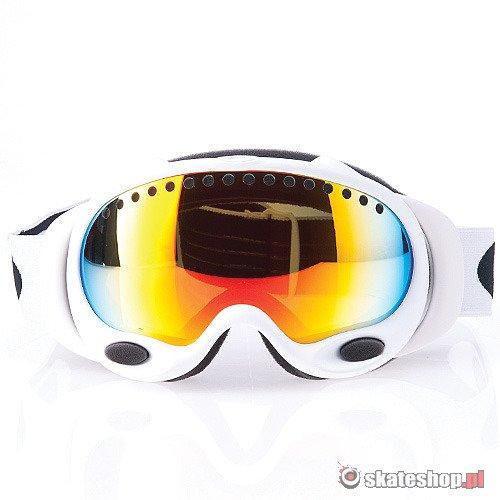 87b503bb9dc9 ... OAKLEY A Frame (matte white fire iridium) snow goggles ...