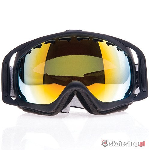 ea0bd57917eb ... OAKLEY Crowbar (matte black fire iridium) snow goggles ...
