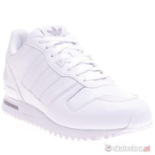 Buty ADIDAS ZX 700 (whitewhitealu) białe