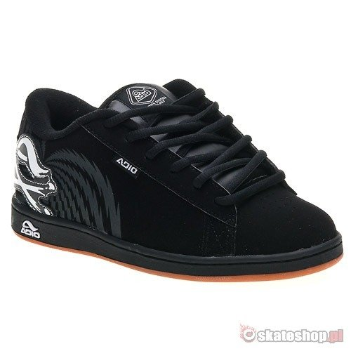 ab71e806d26 ADIO Eugene BOYS black black white shoes