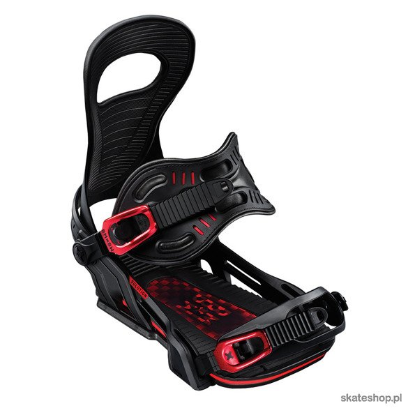 BENT METAL Solution (black) Snowboard Bindings