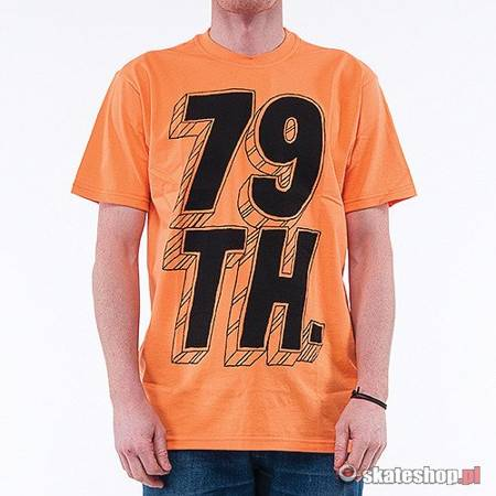 79th Logo 3D  (orange/black) t-shirt