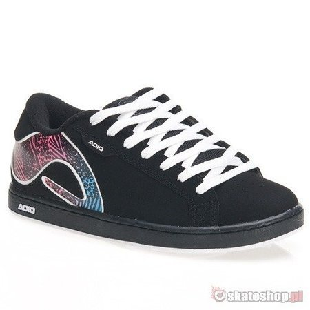 ADIO Eugene RE STAMP WMN black/blue/pink shoes