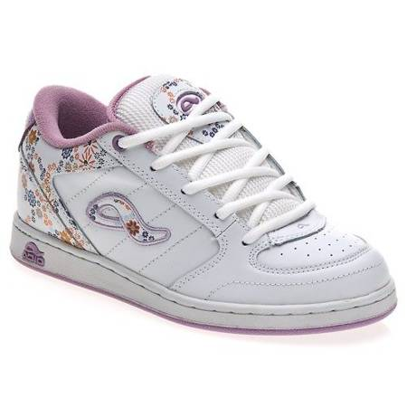 ADIO Hamilton KIDS white/lilac/white shoes