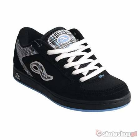 ADIO Hamilton WMN black/white/blue shoes