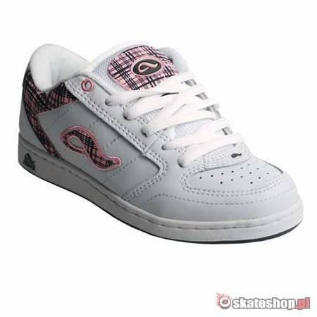 ADIO Hamilton WMN white/charcoal/pink shoes