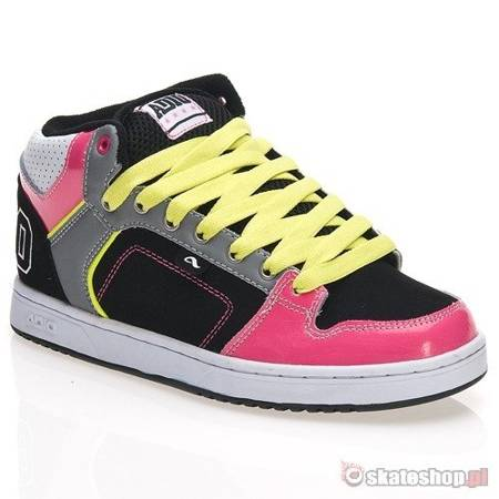 ADIO Kingsley WMN black/grey/pink shoes