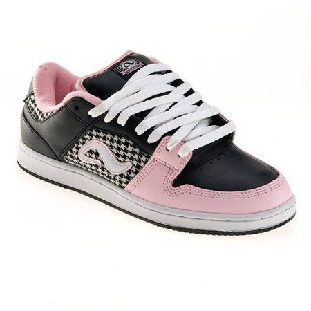ADIO Monroe WMN black/white/pink shoes