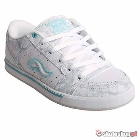 ADIO Snap WMN white/grey/aqua shoes
