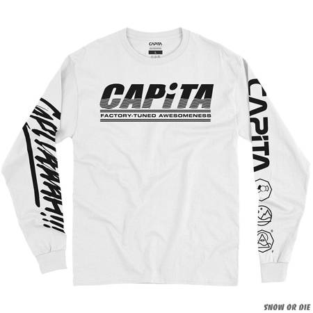 CAPITA Factory 20' (white) long sleeve