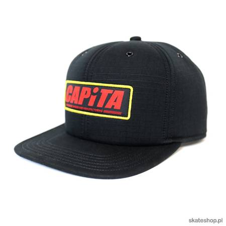 CAPITA Factory (black) cap