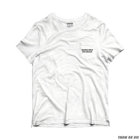 CAPITA Spring Break Kooks Pocket 20' (white) t-shirt