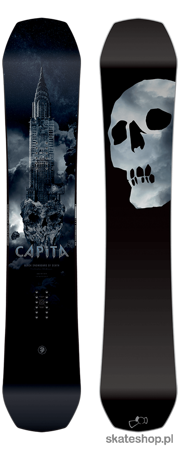 CAPITA The Black Snowboard Of Death 159 snowboard