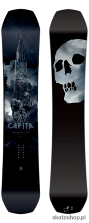 CAPITA The Black Snowboard Of Death 162 snowboard
