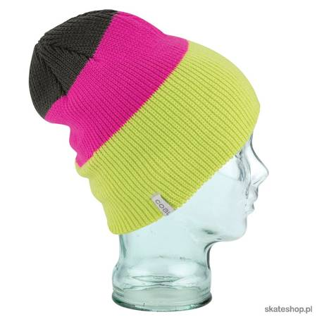COAL The Frena (neon yellow) winter hat