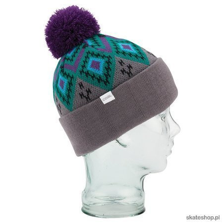 COAL The Geo (charcoal) winter hat