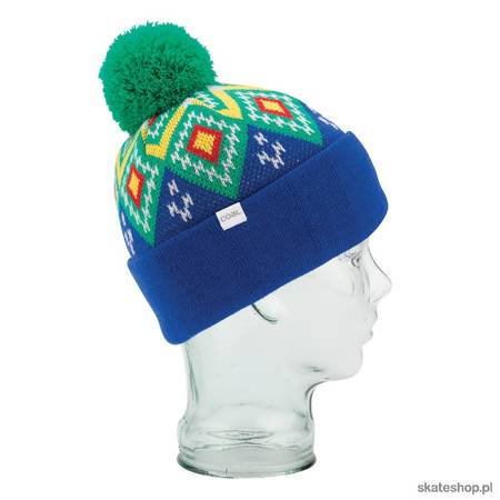 COAL The Geo (royal blue) winter hat