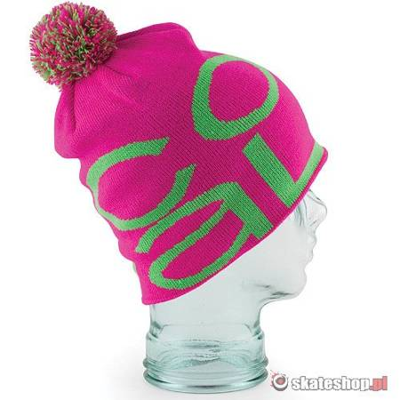 COAL The Logo (magenta) beanie