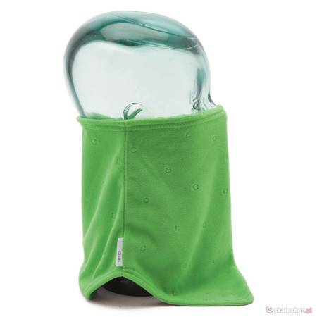 COAL The V-NECK (lime green) neck warmer