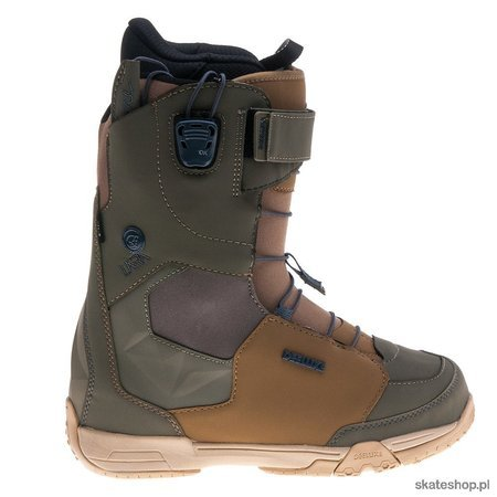 DEELUXE Empire Lara PF (brown/olive) snow boots
