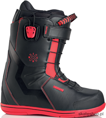 DEELUXE ID x HC PF (black/red) snow boots