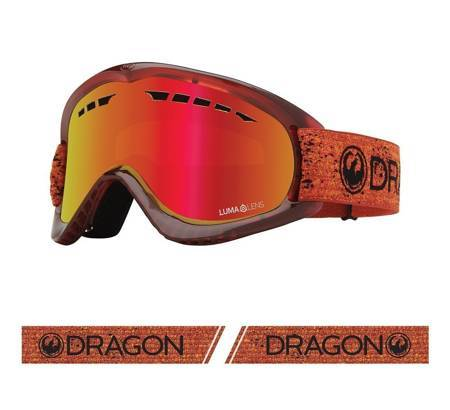 DRAGON DX '21 light fire snow goggles