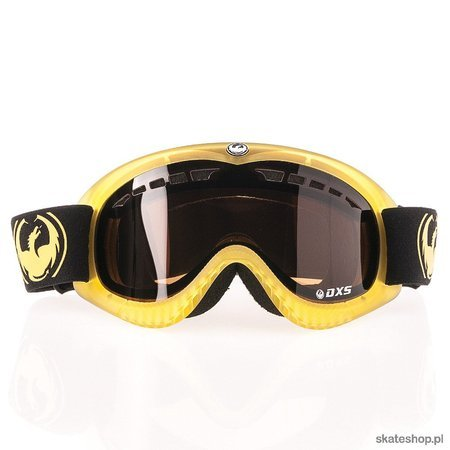 DRAGON DXS (trans matte yellow/jet) snow goggles