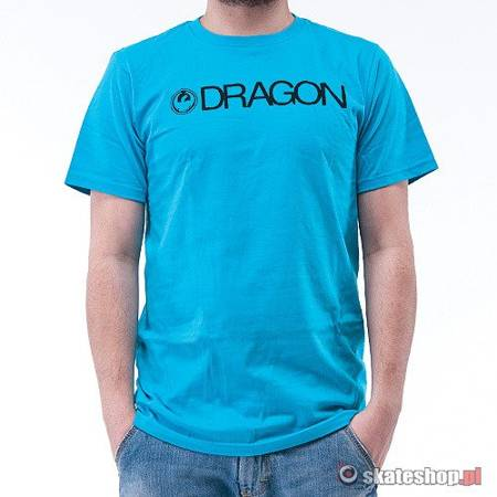 DRAGON Trademark (deep turquoise) t-shirt