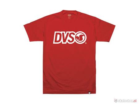 DVS Core Logo '14 (red) t-shirt