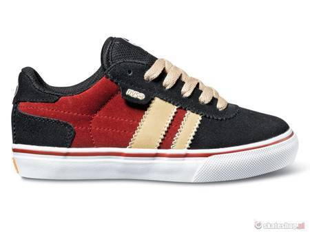 DVS Milan 2 CT KIDS (black red suede weeman) shoes