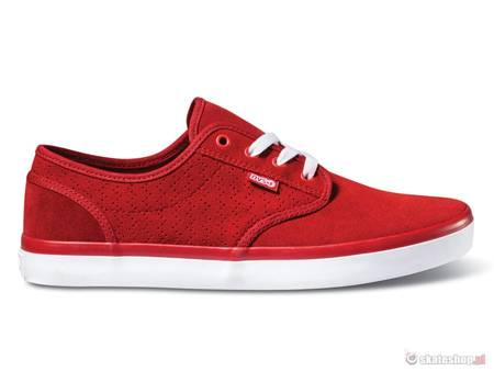 DVS Rico CT (red suede) shoes