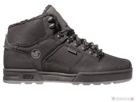 DVS Westridge (black grey leather snow) shoes