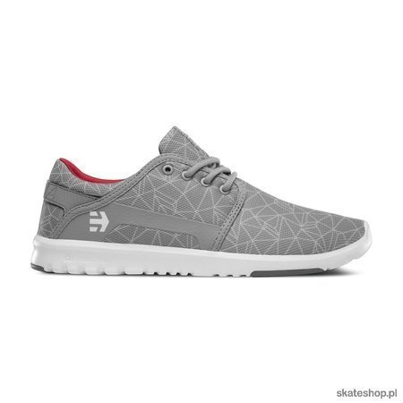 ETNIES Scout (grey/light grey/red) shoes