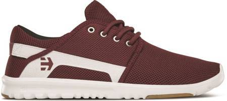 ETNIES Scout (maroon/white) shoes