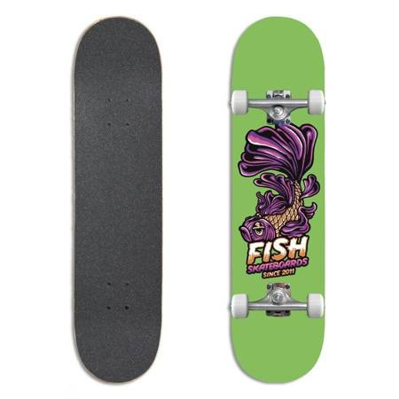 "FISH SKATEBOARDS Beginner Emma 8.0"" skateboard"