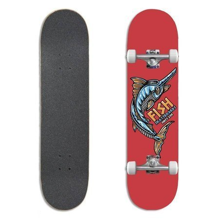 "FISH SKATEBOARDS Beginner James 8.0"" skateboard"