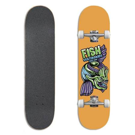 "FISH SKATEBOARDS Beginner Mason 8.0"" skateboard"