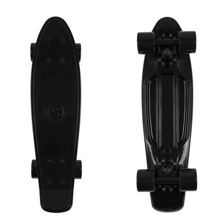 FISH SKATEBOARDS Black Rocket skateboard