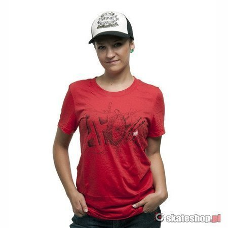 FOX Jumpstart Crew Wmn (rio red) t-shirt