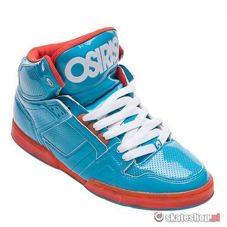 OSIRIS NYC83 (teal/orange/teal) shoes