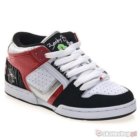 OSIRIS SOUTH BRONX WMN lucy lies/soaked/white/black/red shoes