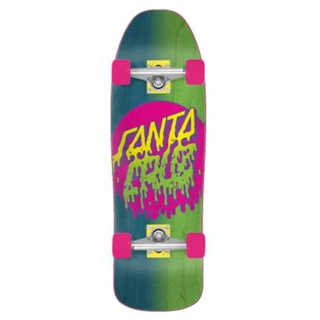 "SANTA CRUZ Rad Dot 80s 9.35"" cruiser skateboard"