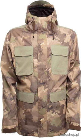 SESSIONS Airborne (camo fatigue) snowboard jacket