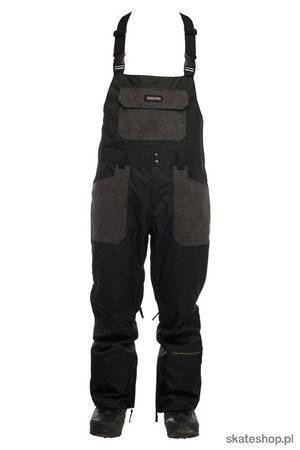 SESSIONS Bleach (black) snowboard bib pants