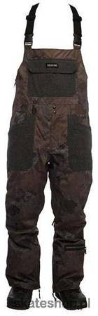 SESSIONS Bleach (camo black) snowboard bib pants